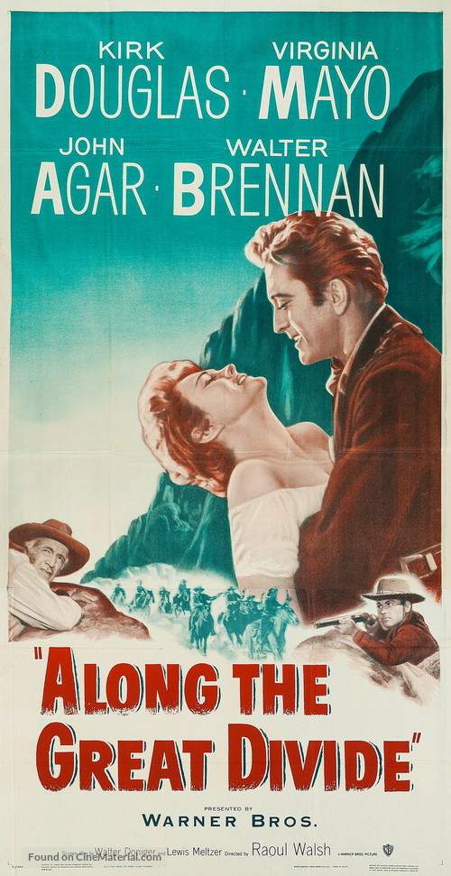 Along the Great Divide - Movie Poster