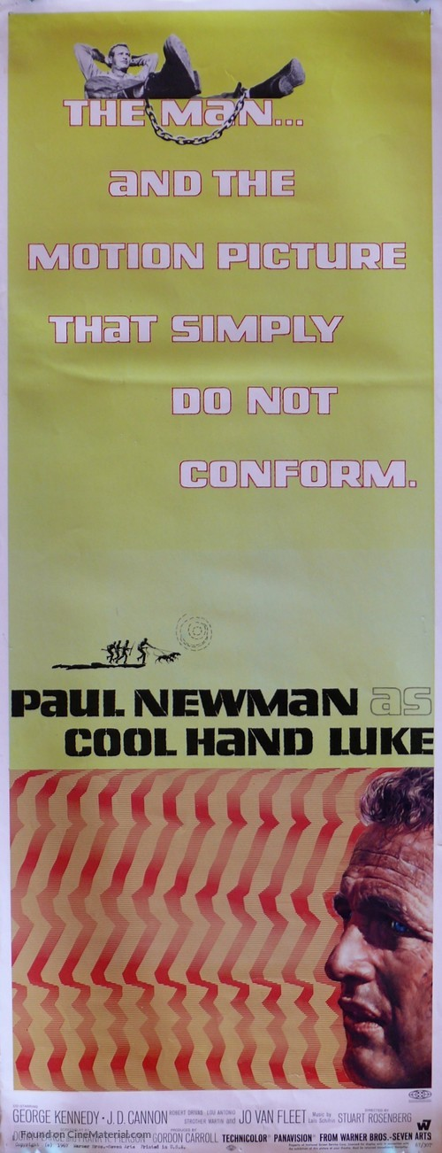 Cool Hand Luke - Movie Poster