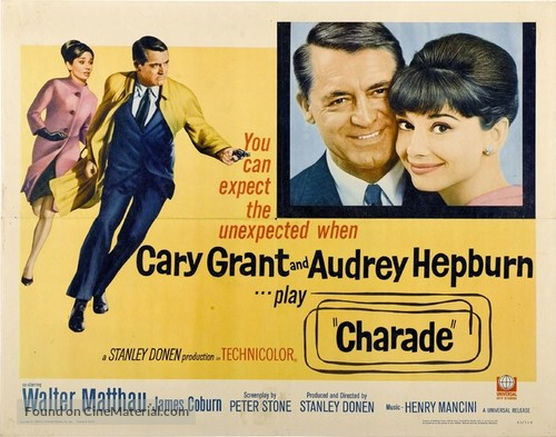 Charade - Movie Poster