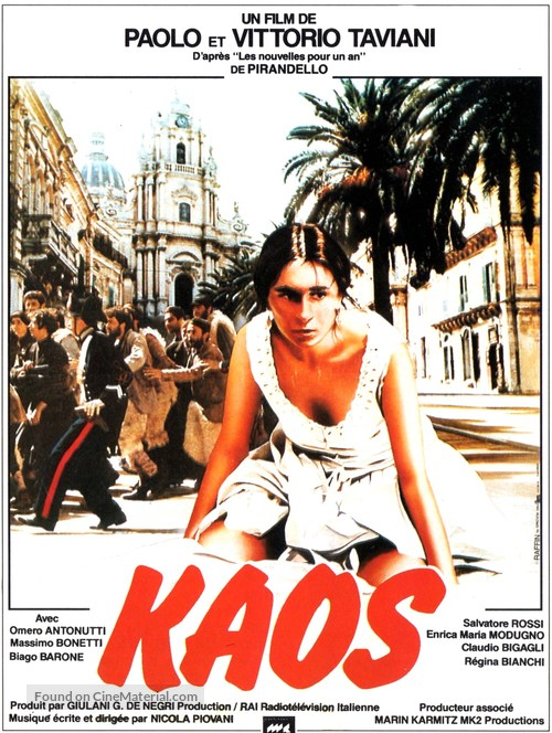 Kaos - French Movie Poster