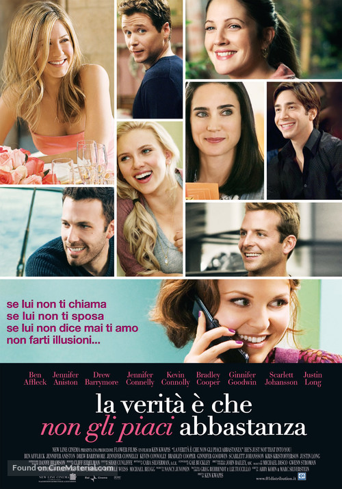 He's Just Not That Into You - Italian Movie Poster