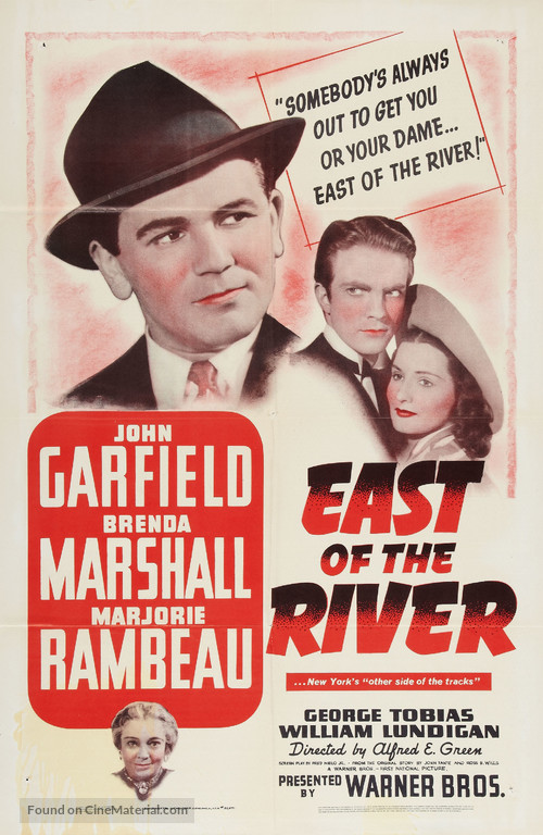 East of the River - Movie Poster