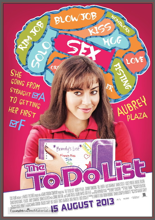 The To Do List - Thai Movie Poster