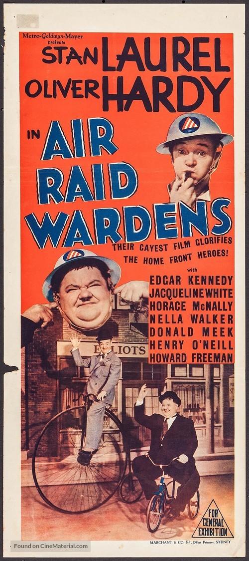 Air Raid Wardens - Australian Movie Poster