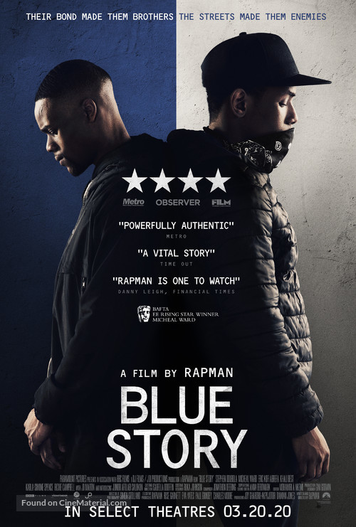 Blue Story - Movie Poster