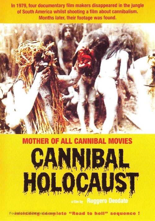 Cannibal Holocaust Vintage Movie Poster 24x36