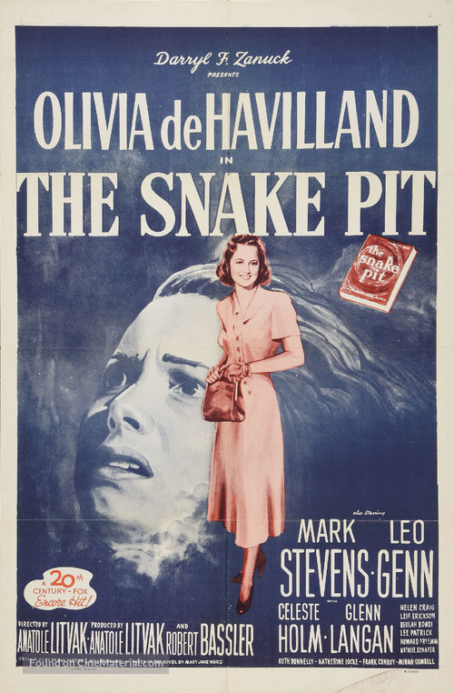 The Snake Pit - Re-release movie poster