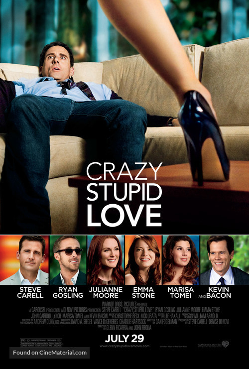 Crazy, Stupid, Love. - Movie Poster