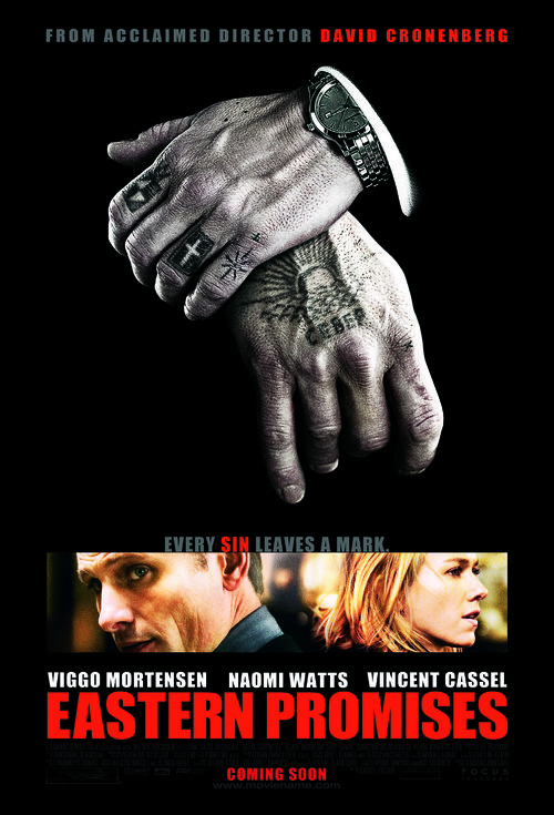 Eastern Promises - Movie Poster