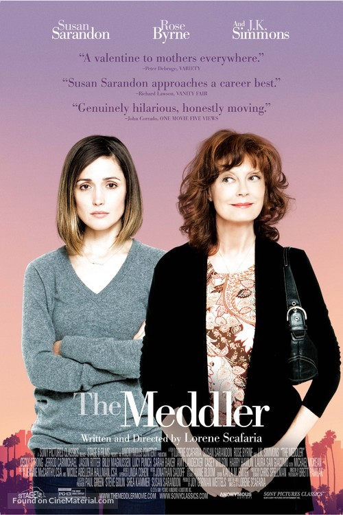 The Meddler - Movie Poster