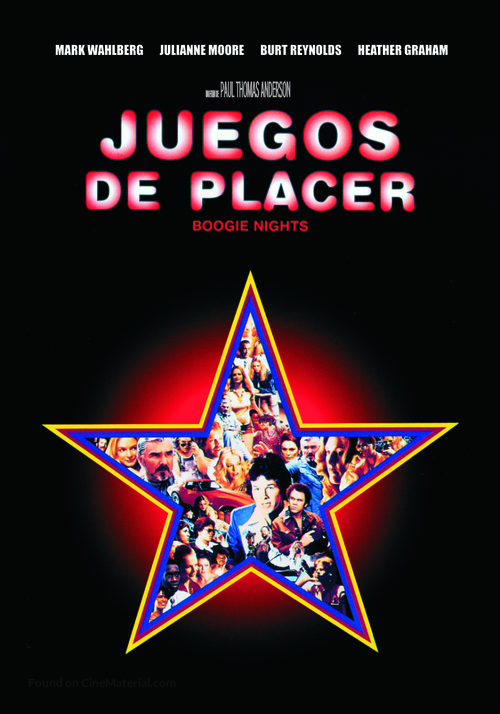 Boogie Nights - Argentinian DVD movie cover