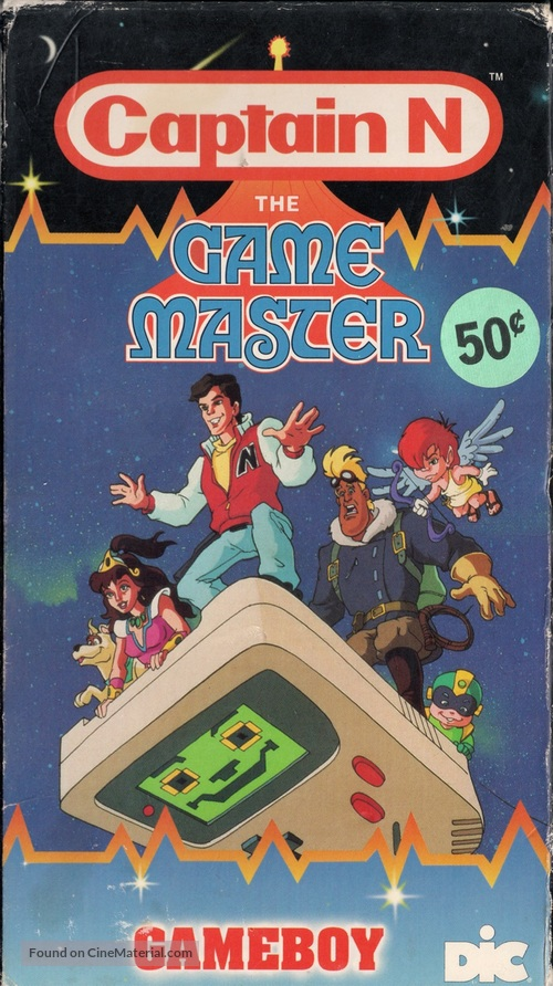 """Captain N: The Game Master"" - VHS movie cover"