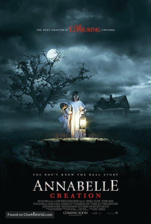 Annabelle: Creation - Movie Poster