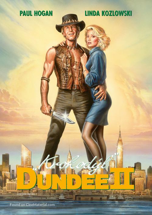 Crocodile Dundee II - Czech Movie Cover
