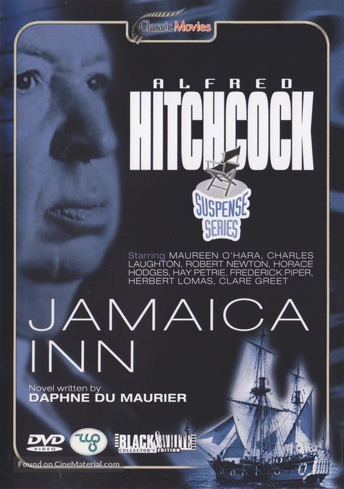Jamaica Inn - Belgian DVD cover