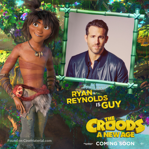 The Croods: A New Age - International Movie Poster