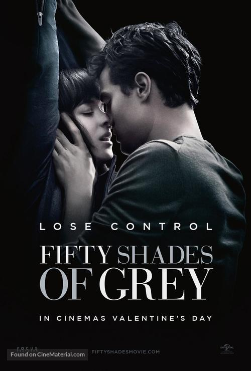 Fifty Shades of Grey - British Movie Poster