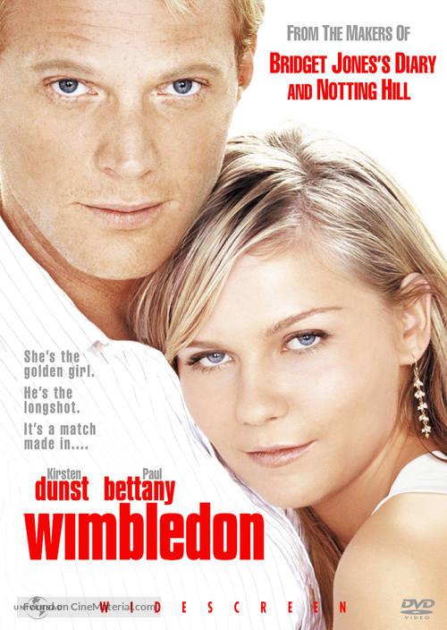 Wimbledon - DVD movie cover