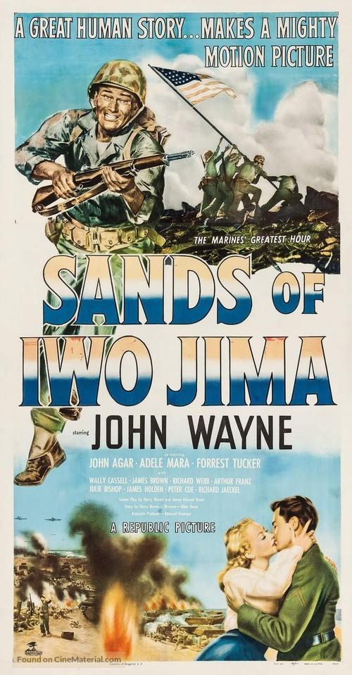 Sands of Iwo Jima - Movie Poster