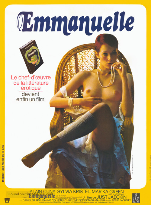 Emmanuelle - French Movie Poster