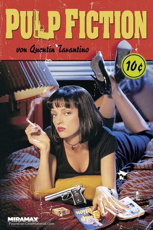 Pulp Fiction - Austrian Movie Cover
