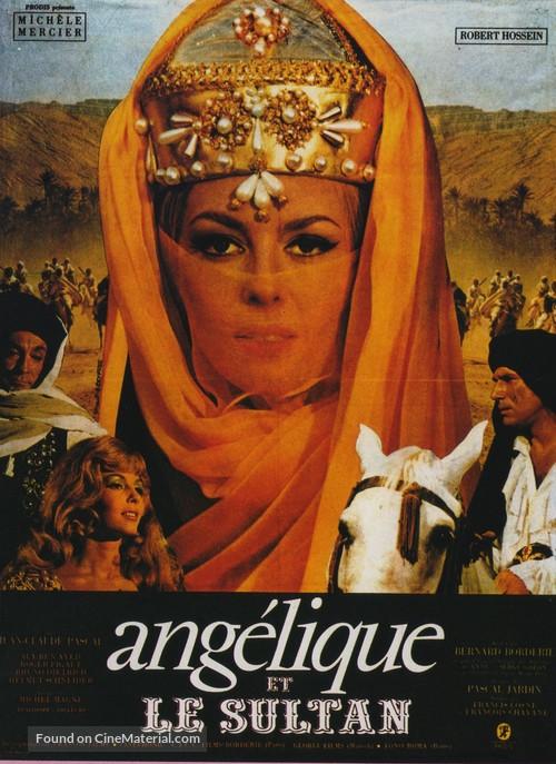Angélique et le sultan - French Movie Poster