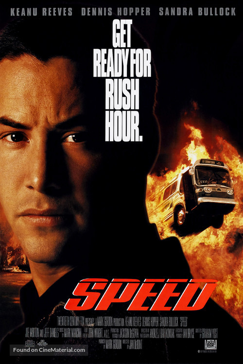 Speed - Movie Poster