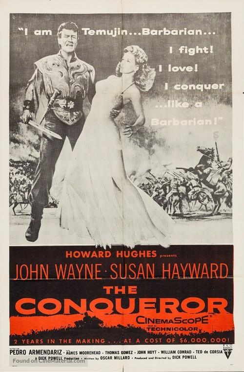 The Conqueror - Movie Poster