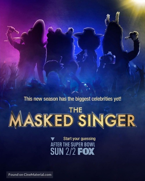 """""""The Masked Singer"""" - Movie Poster"""