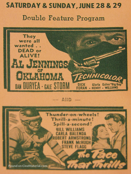 Al Jennings of Oklahoma - poster