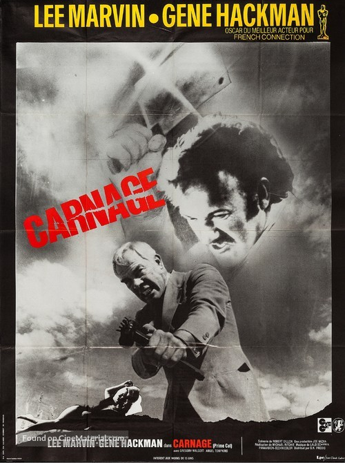Prime Cut - French Movie Poster