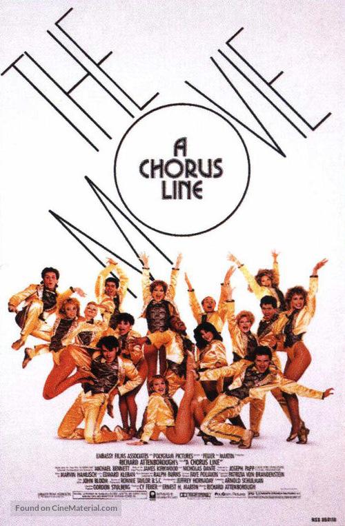 A Chorus Line - Movie Poster