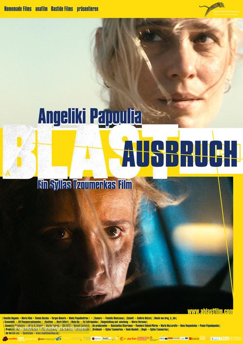 A Blast - German Movie Poster