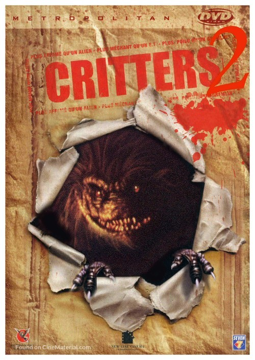Critters 2: The Main Course - French Movie Cover