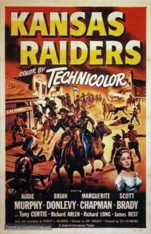 Kansas Raiders - Movie Poster