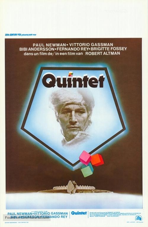 Quintet - Belgian Movie Poster