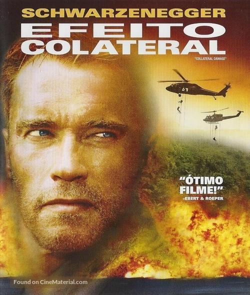 Collateral Damage - Brazilian Blu-Ray movie cover