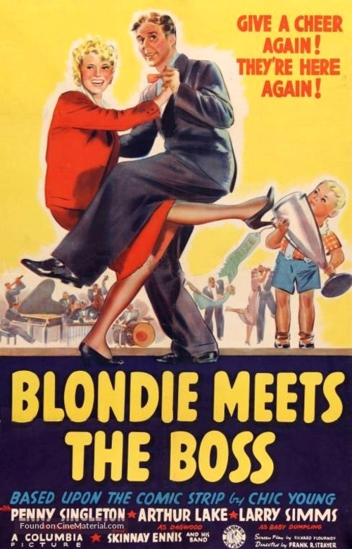 Blondie Meets the Boss - Movie Poster