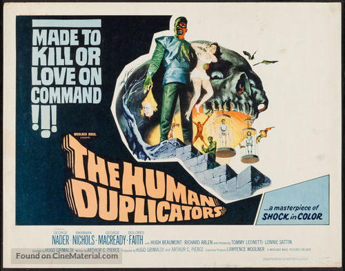 The Human Duplicators - Movie Poster