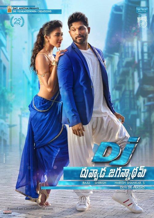 Duvvada Jagannadham - Indian Movie Poster