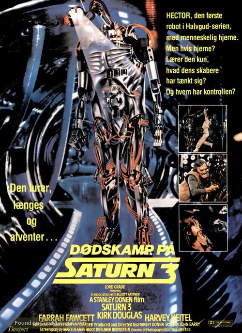 Saturn 3 - Danish Movie Poster
