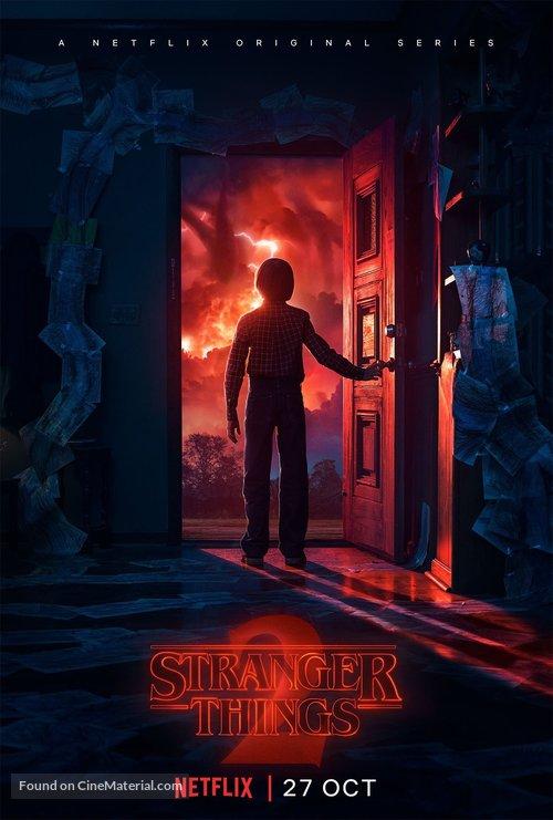 """Stranger Things"" - British Movie Poster"