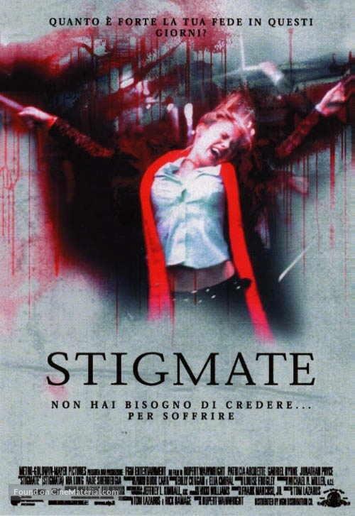 Stigmata - Italian Movie Poster