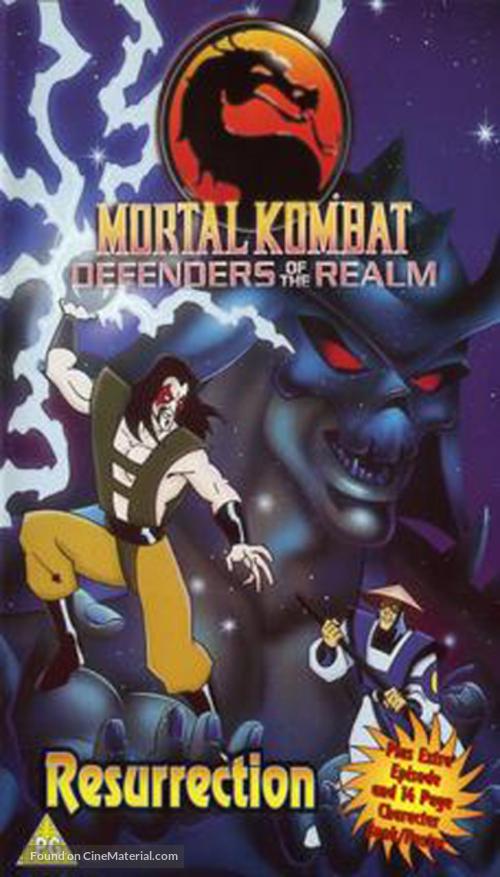 """Mortal Kombat: Defenders of the Realm"" - poster"