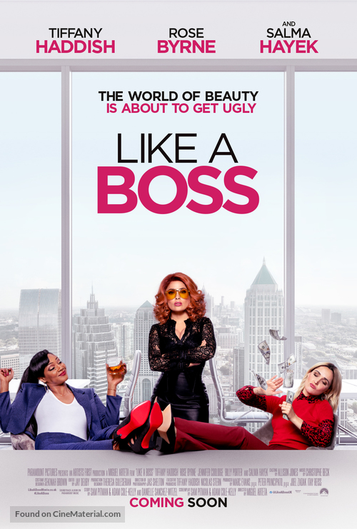 Like a Boss - British Movie Poster