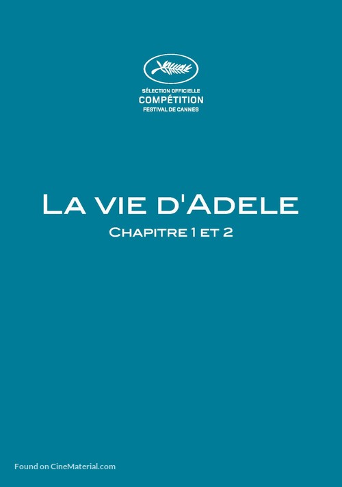 La vie d'Adèle - French Movie Poster