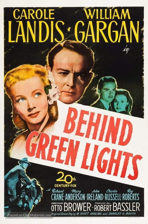 Behind Green Lights - Movie Poster