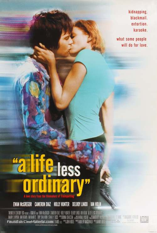 A Life Less Ordinary - Movie Poster