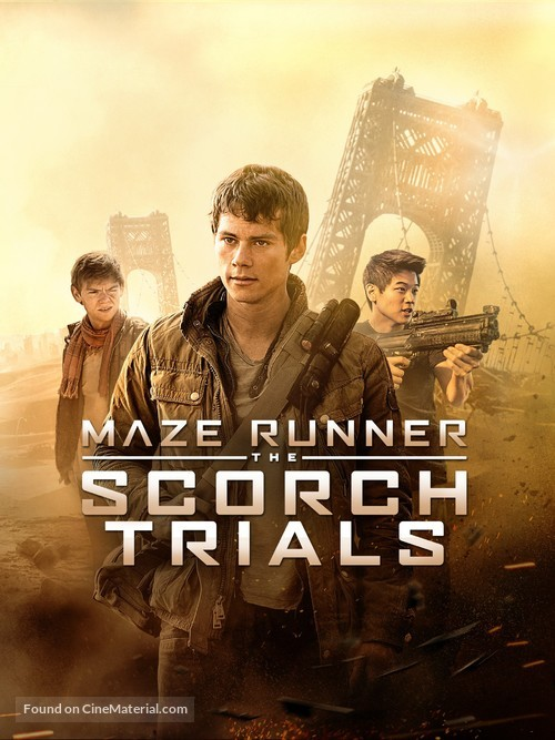 Maze Runner: The Scorch Trials - Movie Cover