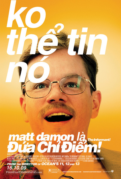 The Informant - Vietnamese Movie Poster